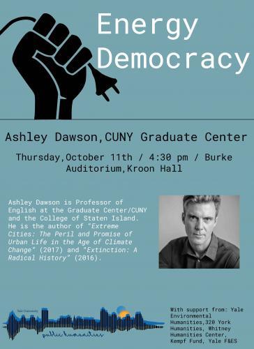"""Ashley Dawson, """"Energy Democracy"""" Poster"""
