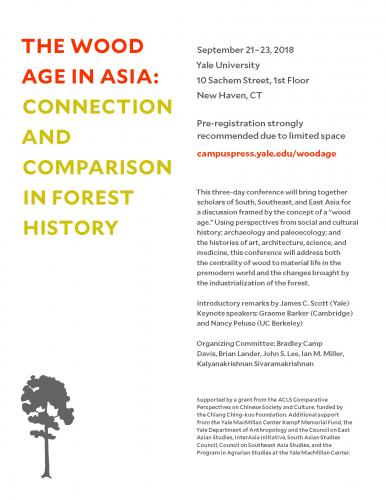 """Wood Age in Asia"" Conference Poster"